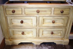 Distressed-Custom-Built-Dresser-Drawers