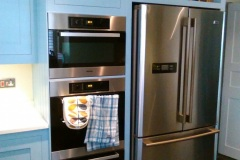Re-Painted-Harvey-Jones-Bespoke-Kitchen-Fridge-Freezer-Housing