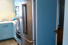 Re-Painted-Harvey-Jones-Custom-Built-Kitchen-Furniture