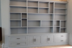 Hand-Painted-MDF-Bookcase-Clapham-South-London-3