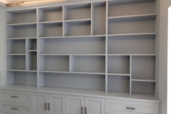 Hand-Painted-MDF-Bookcase-Clapham-South-London-4
