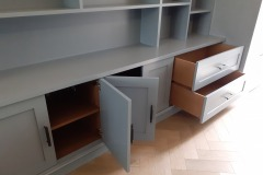 Hand-Painted-Wood-Dye-MDF-Bookcase-Clapham-South-London-7